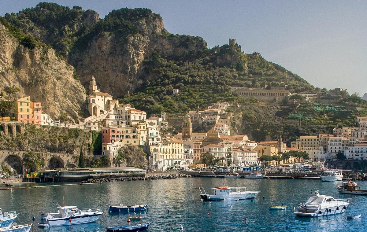 Amalfikysten, Italien