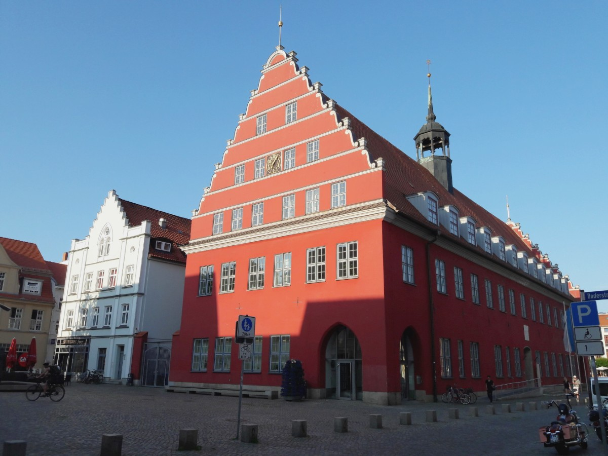 Rathaus, Greifswald