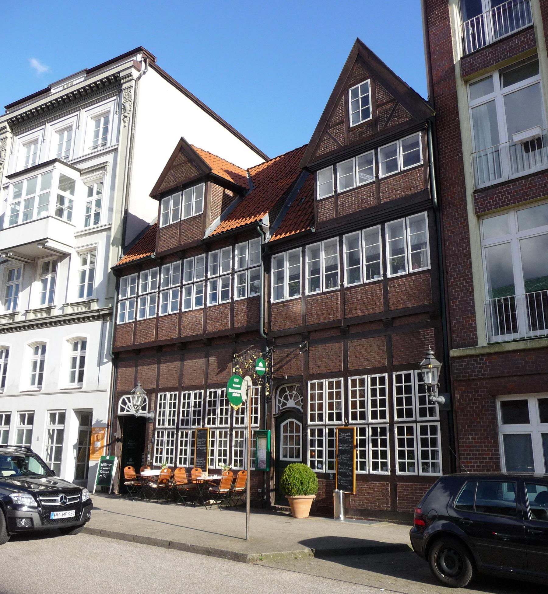 Krameramtswohnungen, Hamburg