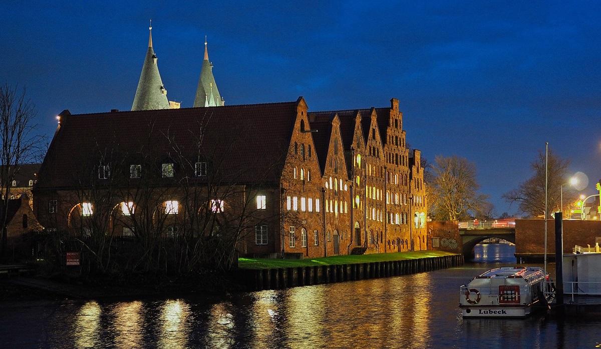 Evening, Lübeck