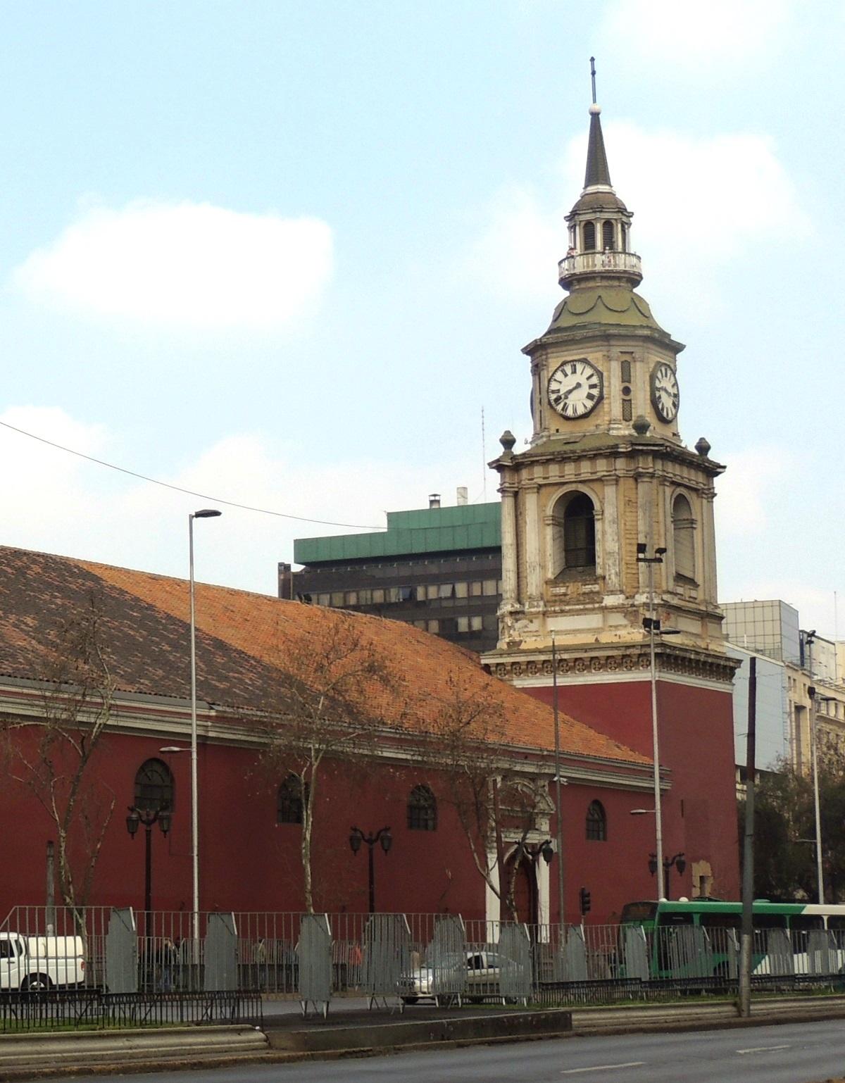 Iglesia San Francisco, Santiago