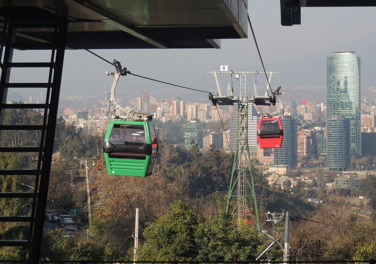 Teleferico, Santiago