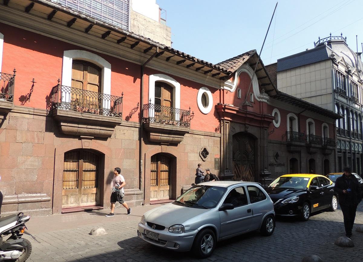 Casa Colorada, Santiago