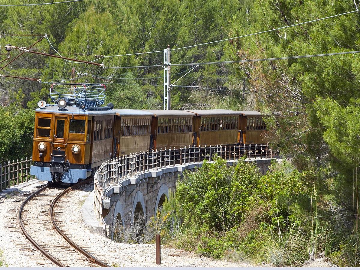 Tren de Sóller, Spanien