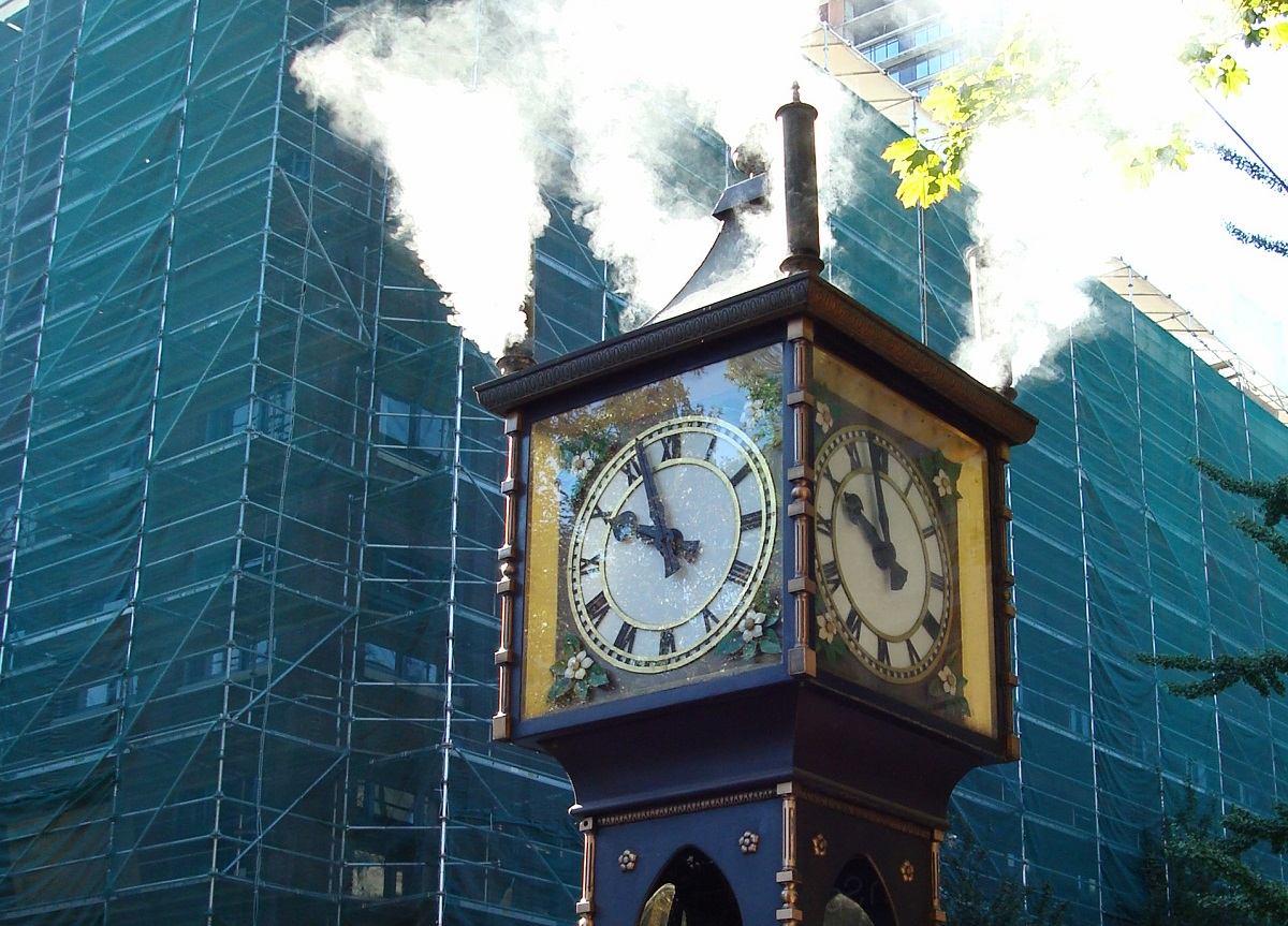 Gastown Steam Clock, Vancouver