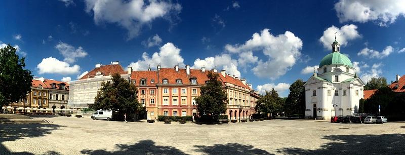 Warszawa Den Nye Bys Markedsplads