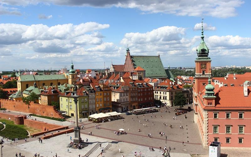 Warszawa Slotspladsen