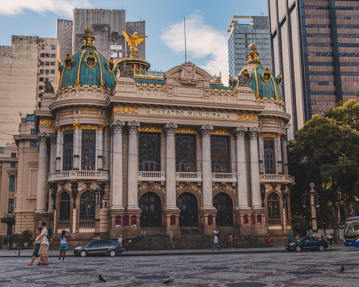 Theatro Municipal, Rio de Janeiro