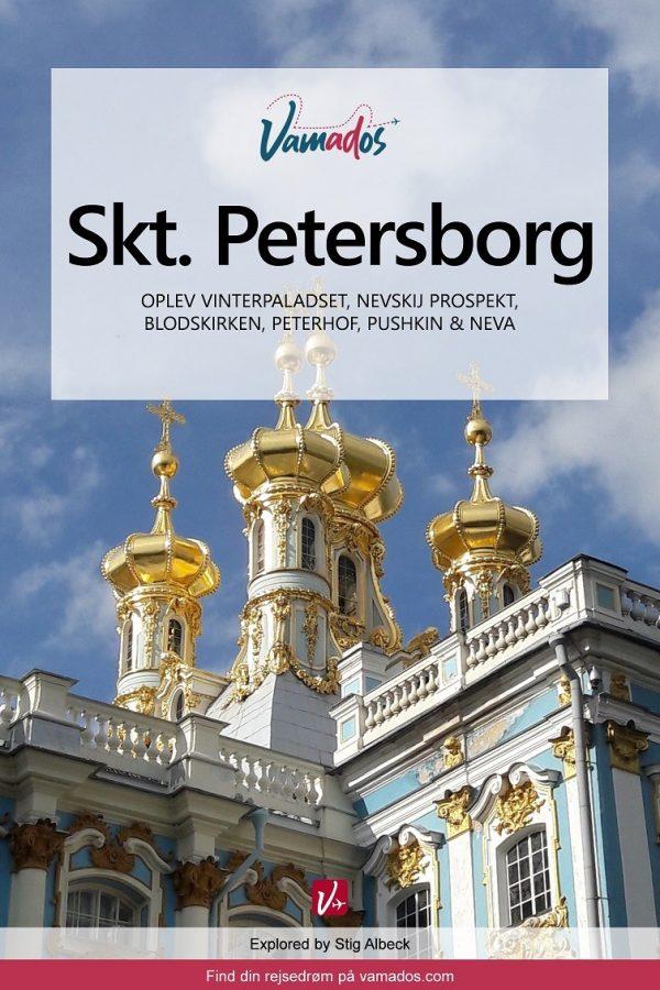 Sankt Petersborg rejseguide