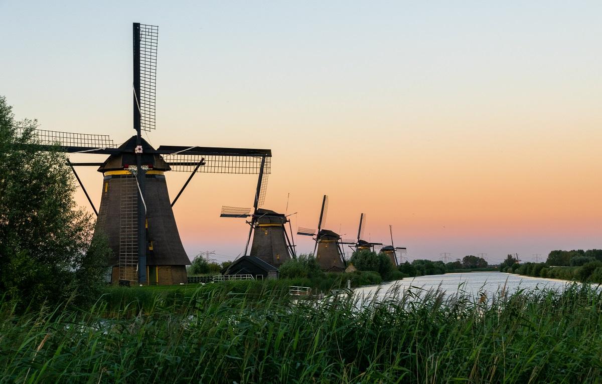 Kinderdijk, Holland