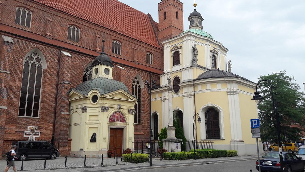 Skt. Vincent Kirke, Wroclaw