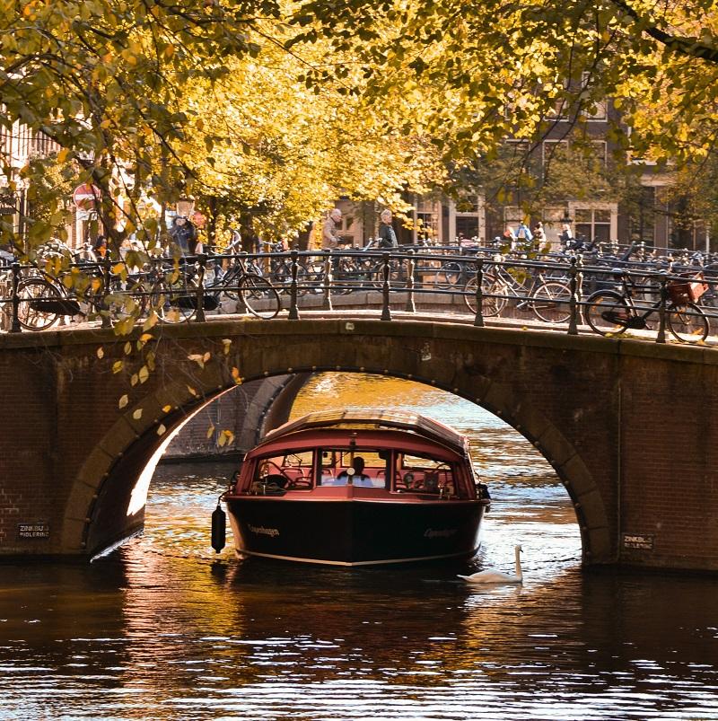 Amsterdam kanaltur