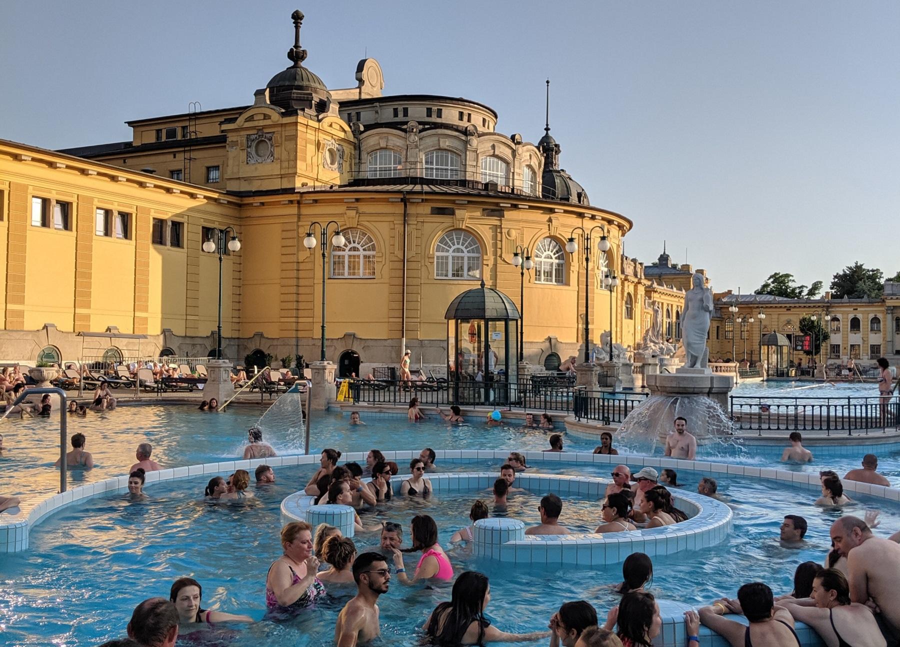 Budapest termalbad