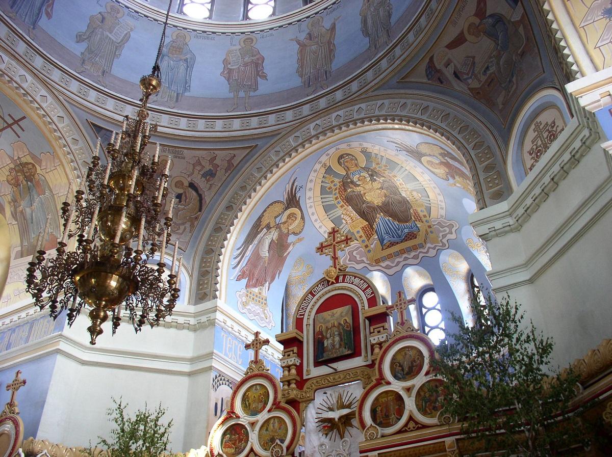 Alexander Nevskij Katedral, Novosibirsk