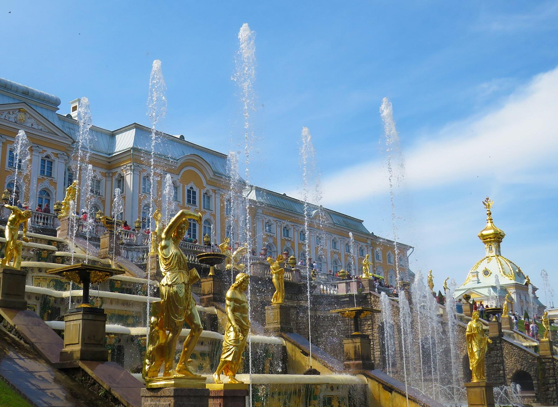 Peterhof, Sankt Petersborg