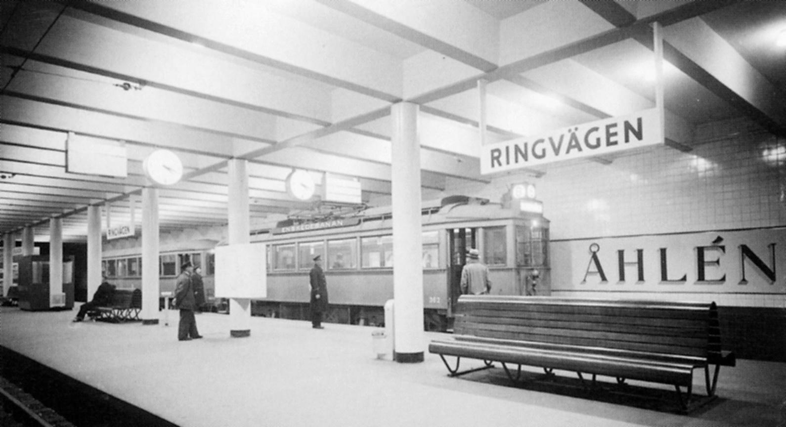 Ringvägen, Stockholm Metro