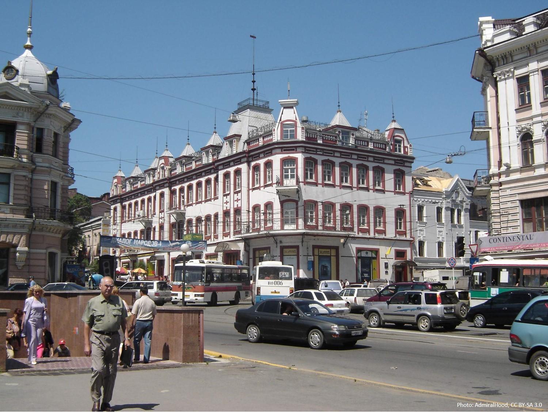 Ul. Svetlanskaja, Vladivostok