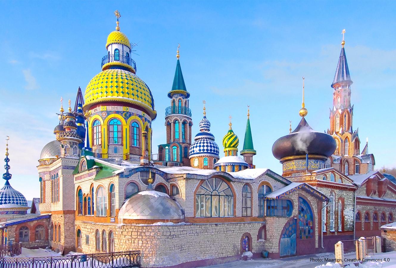 Templet for Alle Religioner, Kazan