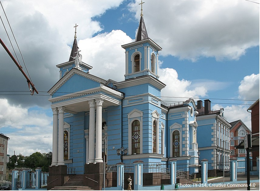Den Katolske Kirke, Kazan