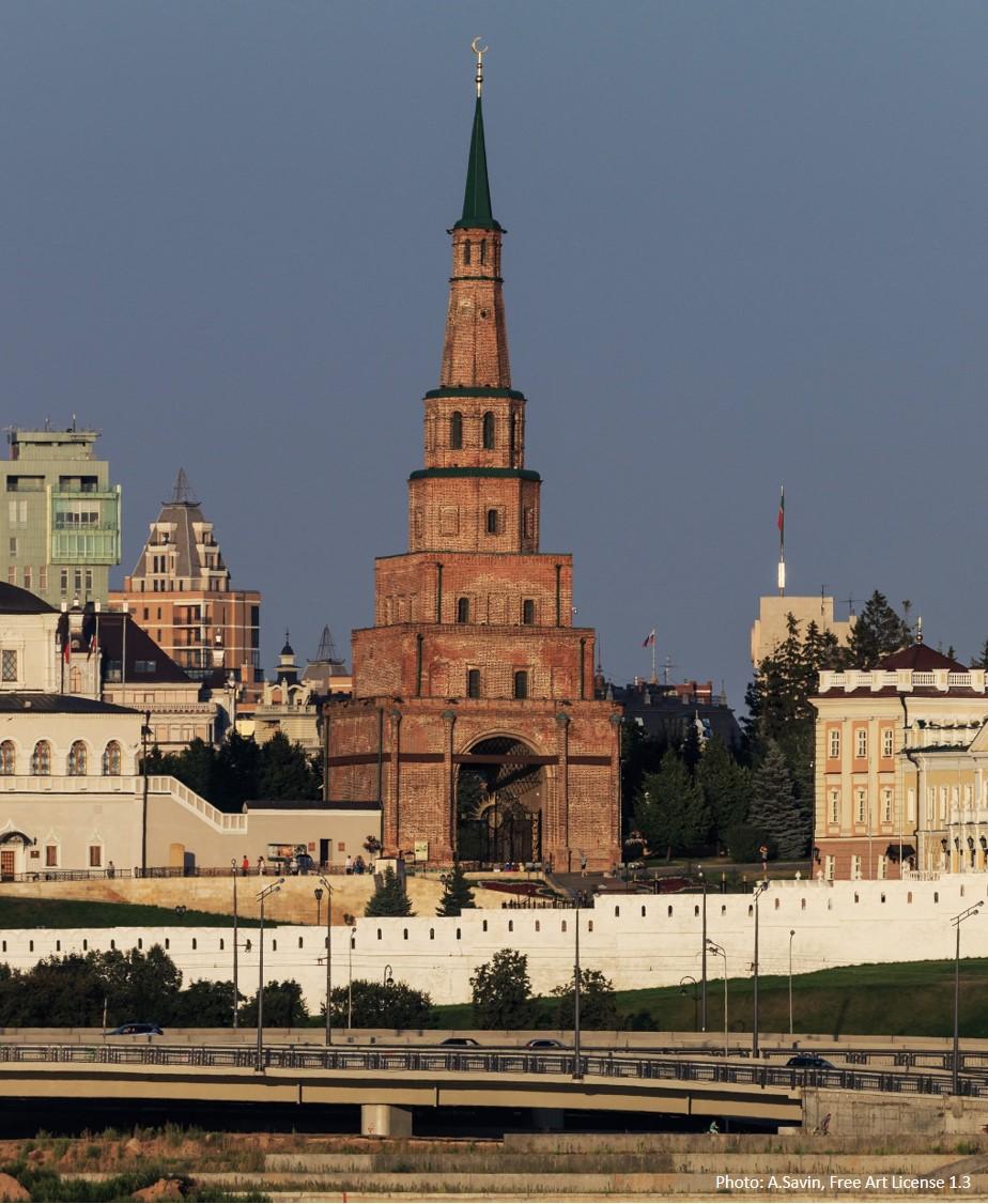 Sujumbike Tårn, Kazan